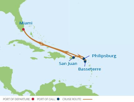 Eastern Caribbean aboard Celebrity Reflection